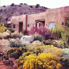 Ojo Caliente hot springs resort  in New Mexico