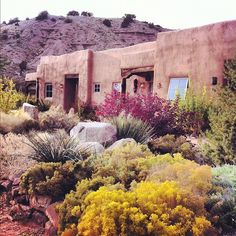 Ojo Caliente hot springs resort  in New Mexico