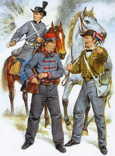 Arkansas Mounted Troops & Artillery, 1861-62 • County Troop - Co D, 2nd AR Cav Bn (Phifer's)  • Pulaski Light Battery (Woodruff's)  • Officer, Napoleon Cavalry - Co G, 1st AR Mtd Rifles