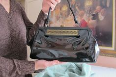 prada wallet in chain - 1000+ ideas about Handbag restoration on Pinterest | Leather ...