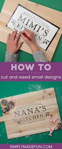 These tricks to successfully weed small designs with a Silhouette will give you actionable tips to get a clean cut and easy weed for your projects! Silhouette Cameo Tutorials, Silhouette Projects, Silhouette Design, Silhouette Cameo Gifts, Silhouette Cameo Christmas, Silouette Cameo Projects, Silhouette Files, Shilouette Cameo, Cricut Tutorials