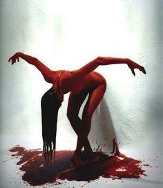 """Voilá."" Horror Photography, Art Photography, Photos Corps, Maleficarum, Blood Art, 3d Fantasy, Wow Art, Horror Art, Dark Art"