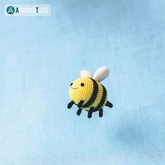 Download Bee Breezy (adventure Time) Amigurumi Pattern (FREE)
