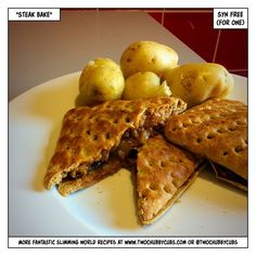 This Slimming World friendly steak bake is a decent enough snack. Some people say it tastes just like a one from Greggs, but they're clearly mad. Syn-free. Remember, at www.twochubbycubs.com we post a new Slimming World recipe nearly every day. Our aim is good food, low in syns and served with enough laughs to make this dieting business worthwhile. Please share our recipes far and wide! We've also got a facebook group at www.facebook.com/twochubbycubs - enjoy!