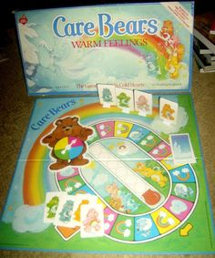 Vintage 1984 Care Bears Warm Feelings Board Game in complete condition. $7.00