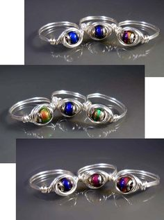 Mood Ring Sterling Silver Plated Made to Order by studiovdesigns, $12.00  Still fun after all these years!
