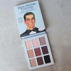 theBalm cosmetics - Meet Matte Trimony Eyeshadow Palette