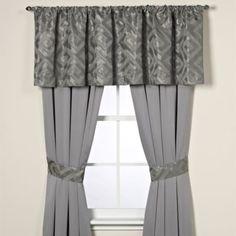 Palais Royale® Lucerne Window Treatment Set - BedBathandBeyond.com
