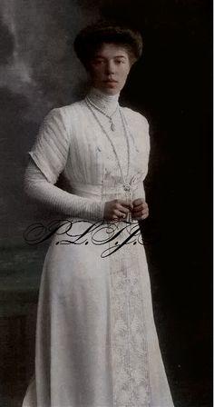 Grand Duchess Olga Alexandrovna, sister of Tsar Nicholas II