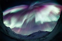 Oh, what I would do to see the aurora borealis...