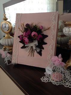 Düğün fotoğraf albümü ve anı defteri