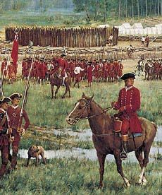 July 4, 1754, Fort Necessity, PA.   This was the July 4th when George Washington was overwhelmed and surrendered during the French and Indian War.  The tide turned later in the war and the British won.  If they had lost we would be speaking French.