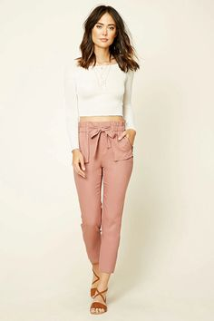 CONTEMPORARY SELF-TIE PANTS #style #fashion #trend #onlineshop #shoptagr