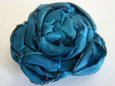 Fabric Flower #Tutorial #1 The Loose Lollypop Flower