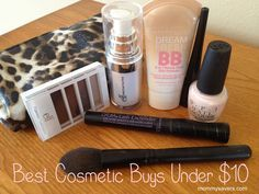 What are the best cosmetics under $10? It was a question we asked our forum members last week and we got tons of great replies!  This is what they had to say: Best Cosmetic Buys Under $10 Anythin...