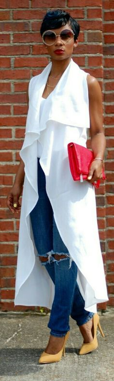 DIY Sleeveless Vest / Fashion by Young at Style