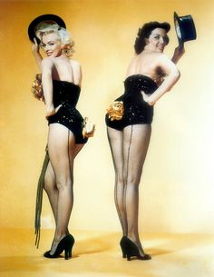 Marilyn and Jane gentlemen prefer blondes - I used to know all the song lyrics in this movie!