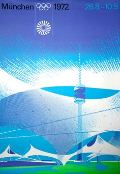 1972 Munich Olympic poster