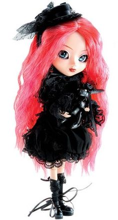 Pullip Doll- I have this one on my bookcase.