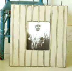 Bead Board Frame- could work for any size print!! Love <3