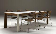 Modern Tisch / Holz / Auszieh / für Innenbereich GM 7700 by Nissen & Gehl MDD Naver collection