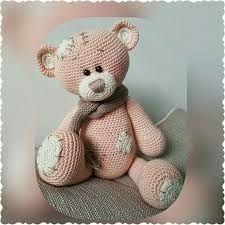 Znalezione obrazy dla zapytania me to you bear crochet