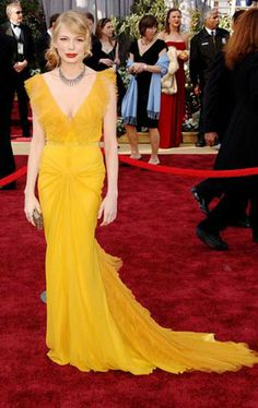 Michelle Williams - one of my favourite red carpet gown ever