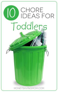10 Chore Ideas for Toddlers -- practical ideas for teaching your children to enjoy doing chores. Plus, some chore ideas you may not have thought of assigning to a young child. -- From the Money Saving Mom, Crystal Paine. Bebe Love, My Bebe, Toddler Fun, Toddler Activities, Toddler Stuff, Just In Case, Just For You, Chores For Kids, Toddler Chores