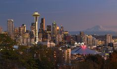 The Emerald City   My favorite spot in Seattle: Kerry Park. Overlooks the city and on clear days one can see the majestic Mount Rainier looming in the distance.