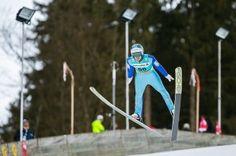 Michael Hayboeck beim FIS Skispringen Weltcup in Engelberg / Schweiz | Fotojournalist Kassel http://blog.ks-fotografie.net/pressefotografie/fis-skispringen-engelberg-schweiz-fotografiert/
