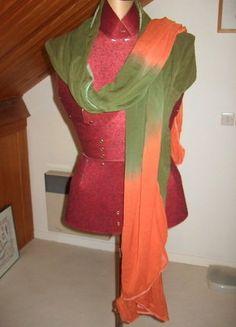 À vendre sur #vintedfrance ! http://www.vinted.fr/accessoires/echarpes/28886814-echarpe-vert-orange