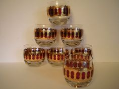 7 Culver Cranberry Scroll Roly Poly 22 Karat Gold by PJsParadise, $56.00