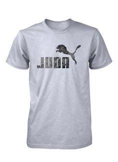 Leon de Juda Jesus Dios Tribu Israel Camiseta Cristiana Camisa Gospel fd95a6e7b7d
