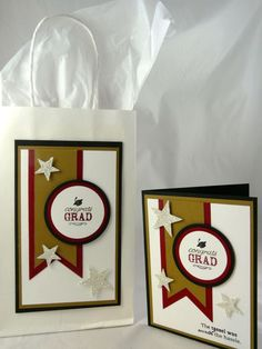 Classic Graduation Set - can also be made in school colors