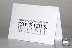 18 Beautiful Wedding Thank You Cards from Irish Stationery Designers | weddingsonline