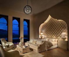 Bedroom So romantic, and elegant! www.maisondemarrakech.com