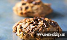 Chickpea Chocolate Chip Cookies Recipe Special in http://www.roomcooking.com/2015/01/chickpea-chocolate-chip-cookies-recipe.html