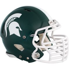 Michigan State Spartans fan?  Prove it!  Put your passion on display with the Michigan State Spartans Teammate Helmet Fathead from Fathead.com!