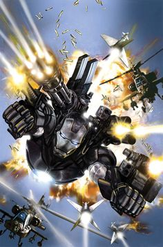 War Machine – (Marvel – Iron Man) – James Rhodes first appeared in 1979 in the pages of Iron Man. Years later, after Tony fell back into alcoholism Rhodes took over as Iron Man for a while. Marvel Comics, Ms Marvel, Marvel Heroes, Marvel Avengers, Secret Avengers, Comic Book Characters, Marvel Characters, Comic Character, Comic Books Art