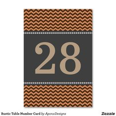 Find your table numbers on Zazzle. Rustic Table Numbers, Finding Yourself, Company Logo, Cards, Design, Maps, Playing Cards