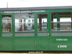 Le fameux train vert de la Fin del Mundo en Patagonie