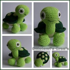 Cutest turtle to crochet ever!