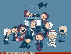 Doctor Who / Peanuts