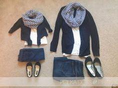 Polka Dots & Pirates: Matching Outfits