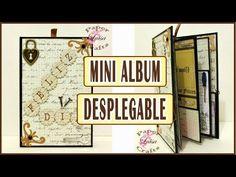 Mini Album Desplegable Día del Padre| TUTORIAL SCRAPBOOKING | Luisa PaperCrafts - YouTube
