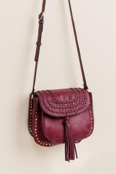 Sandy Tassel Crossbody