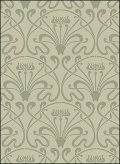 """SL VN57 Lalique, 21.3 x 24.2"""", This stencil is designed to repeat horizontally and vertically to fill the desired area. Registration guides are provided on the stencil to set up your next pattern repeat quickly and accurately. Stencil Library Design available at www.stencilwerks.com"""
