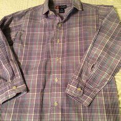 Chaps Boys Purple Blue White Plaid Cotton Blend Shirt Size Small ( 8 ) | Clothing, Shoes & Accessories, Kids' Clothing, Shoes & Accs, Boys' Clothing (Sizes 4 & Up) | eBay!