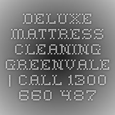 Deluxe Mattress Cleaning Greenvale   Call 1300 660 487