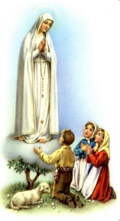 Our Lady of Fatima Blessed Mother Mary, Blessed Virgin Mary, Catholic Art, Roman Catholic, Pictures Of Mary, Religion Catolica, Lady Of Fatima, Mama Mary, Religious Images